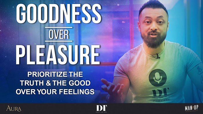 Goodness over Pleasure | David Tian, Ph.D.