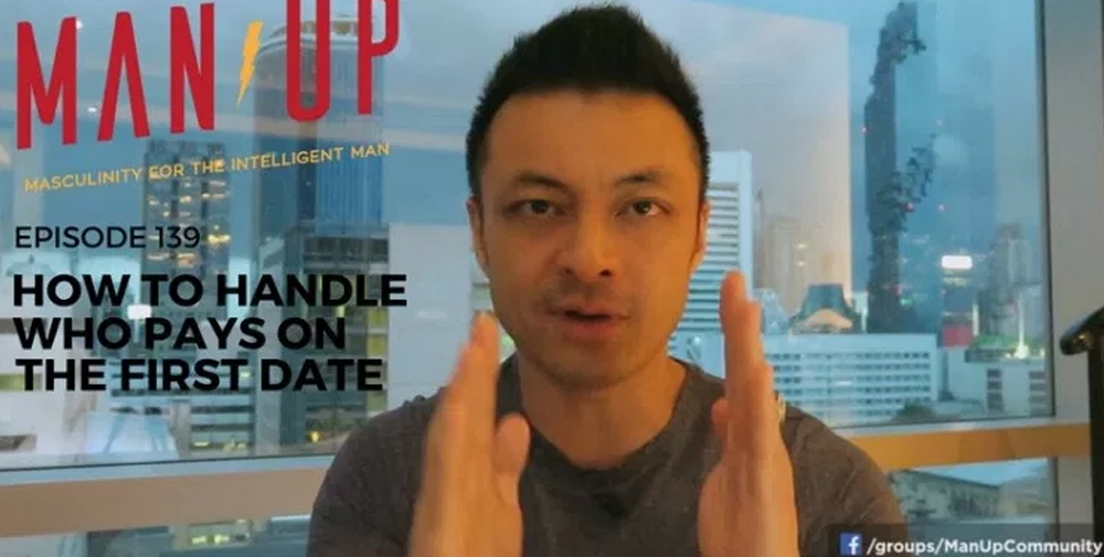 """The Man Up Show"" Ep.139 – How To Handle Who Pays On The First Date"