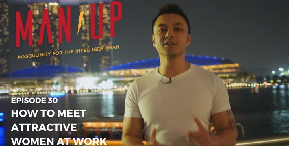"""""""The Man Up Show"""" Ep.30 – How To Meet Attractive Women At Work"""