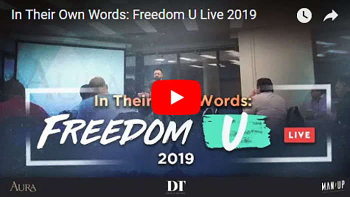 In Their Own Words: Freedom U Live 2019