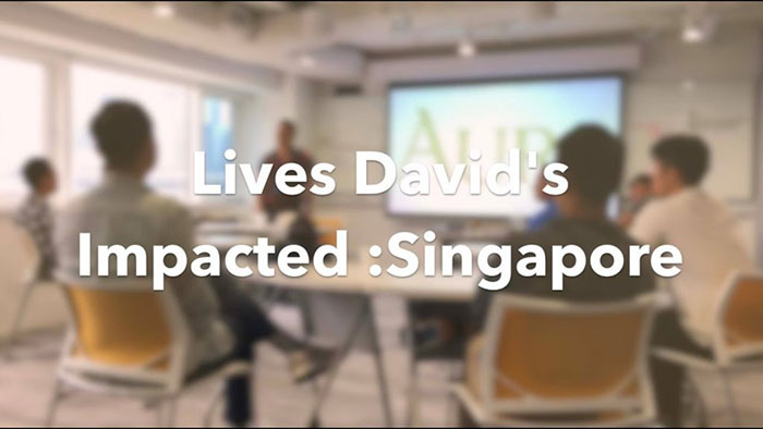 Lives David's Impacted: Singapore