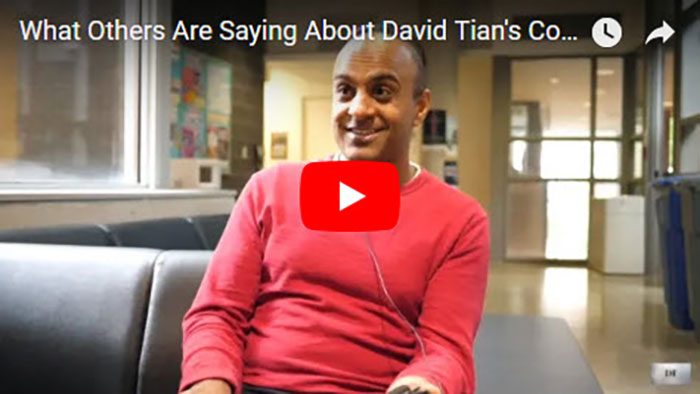 What Others Are Saying About David Tian's Coaching Courses