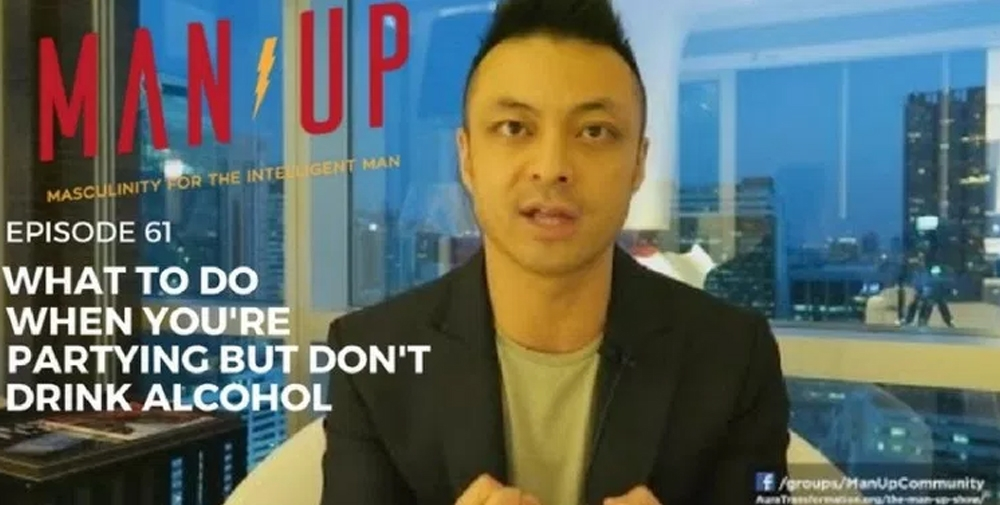 """""""The Man Up Show"""" Ep.61 – What To Do When You're Partying But Don't Drink Alcohol"""